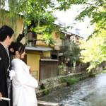 京都前撮りの祇園ロケーション