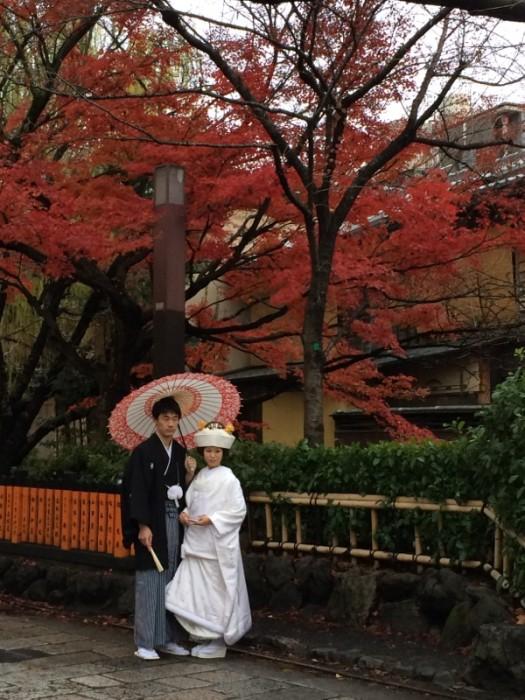 祇園の和装前撮り