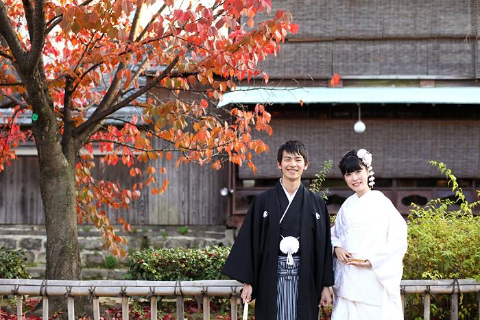 京都らしい祇園での和装前撮り
